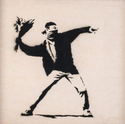 Flower-thrower-Banksy-250x248