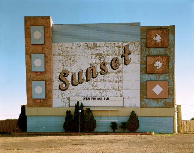 10. West Ninth Avenue, Amarillo, Texas, 2 October 1974. From the Uncommon Places series.