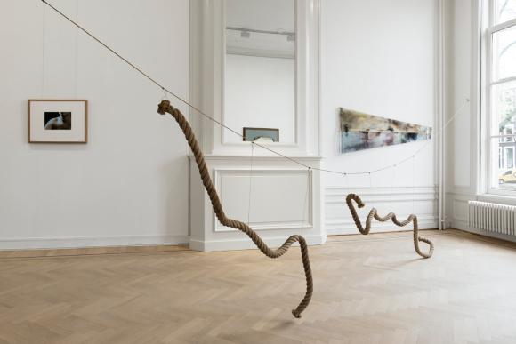 Grimm Gallery - Ger van Elk - Keizersgracht - Installation view