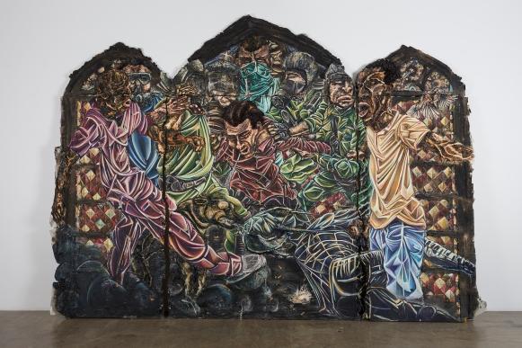 Raquel van Haver, werk - foto door Jack Bell Gallery