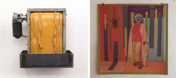 Links: Zoro Feigl, Golden, 2017 | Rechts: Lyubov Matyunina, Carpetologia, 2017