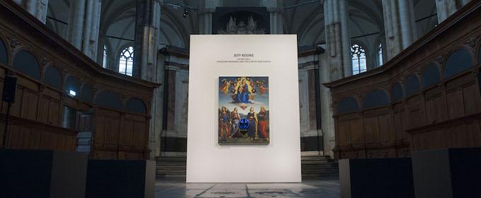 Jeff Koons - de Nieuwe Kerk Amsterdam - Foto Janiek Dam