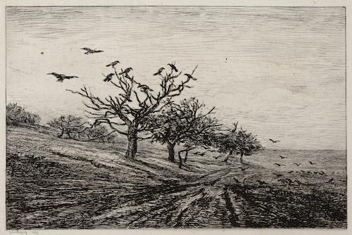 Daubigny, De boom met kraaien, 1867, Gemeentemuseum Den Haag