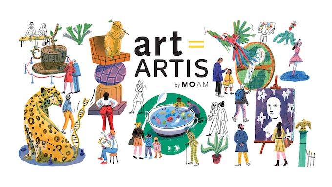 Logo MOAM + ARTIS