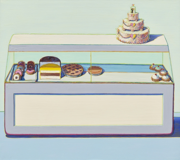 Wayne Thiebaud, Bakery Case, 1996, collection museum Voorlinden