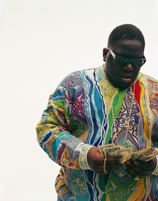 Dana Lixenberg, 'Christopher Wallace (Biggie)', 1996, © Dana Lixenberg, Courtesy the artist and GRIMM