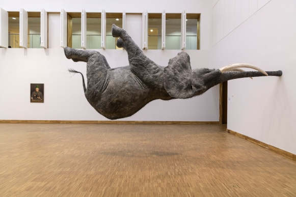 Julien Thomas, 'Conversation (Im)balance', 2018, courtesy de kunstenaar. Foto: Mike Bink, via Kunsthal Kade.