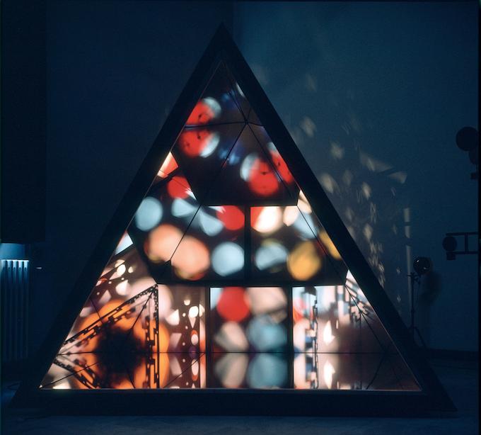 Nicolas Schöffer, 'Le Prisme', 1965, Collectie Éléonore Lavandyra Schöffer, Parijs, via De Kunsthal, Rotterdam