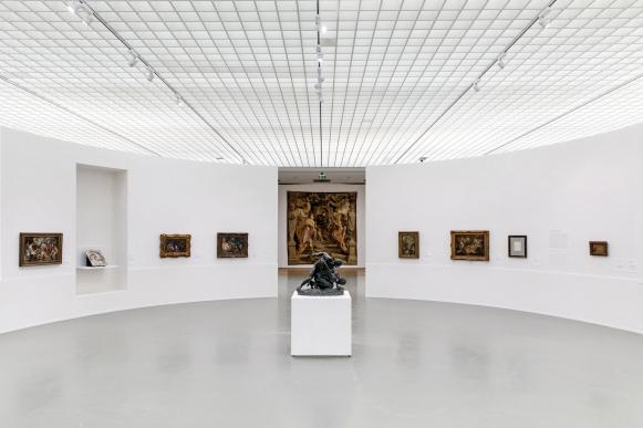 Zaaloverzicht Pure Rubens Museum Boijmans Van Beuningen Rotterdam De Kunstmeisjes