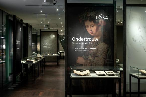 Rembrandt Privé' in het Stadsarchief in Amsterdam.