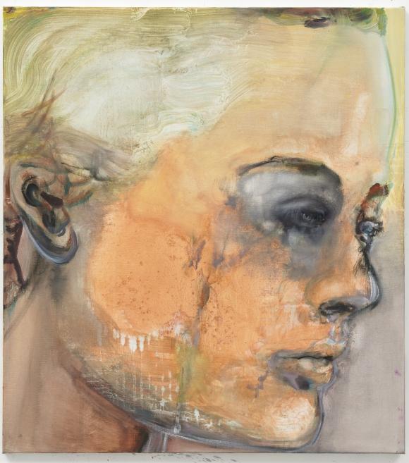 14 Marlene Dumas, Sad Romy, 2008, Collection Rattan Chadha, foto Peter Cox, Courtesy Zeno X Gallery Antwerp