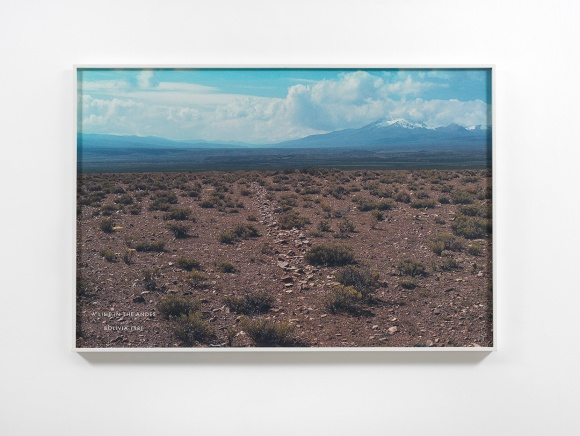 A Line in the Andes, South America_1981_ © Richard Long, Courtesy of Lisson Gallery .jpg