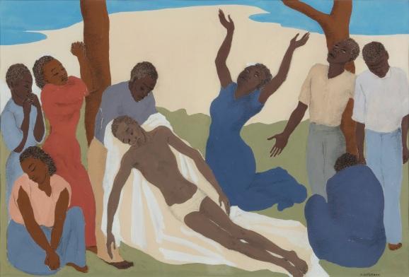 Nola Hatterman, Piëta of Kruisafname van de zwarte Jezus, 1949 kopie