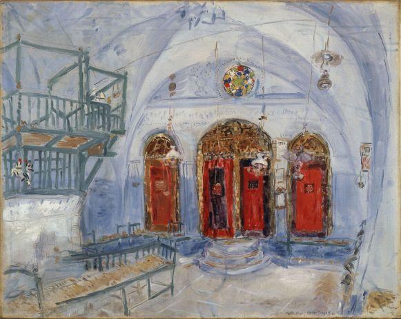 9. Marc Chagall - Synagoge in Safed Stedelijk Museum.jpg