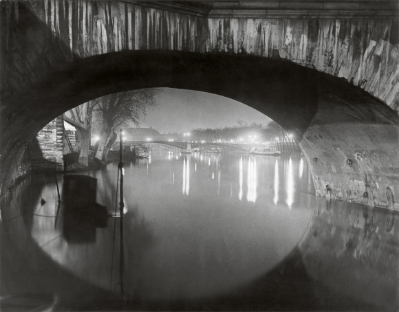 View through the pont Royal toward the pont Solferino c 1933 c Estate Brassai Succession Paris.jpg