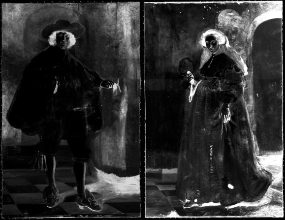 IJzer-kaart (Macro X-Ray Fluorescence) van Rembrandts portretten van Marten Soolmans en Oopjen Coppit uit 1634..png