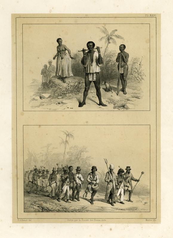 Venster 7. Benoit, Prent met marrons, 1839. Privé collectie.jpg