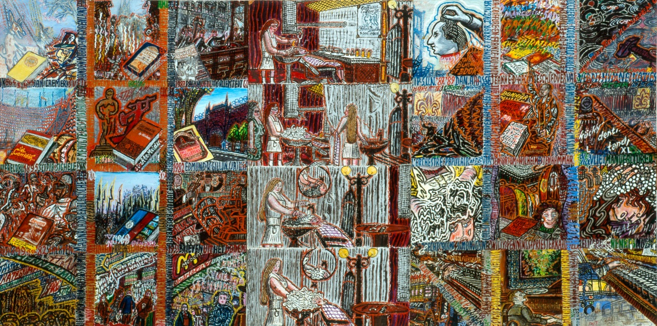 19 - Kapsalon - Collection de l'art Brut kopie